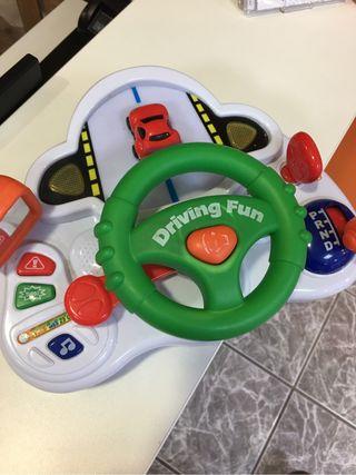 Juego volante bebe