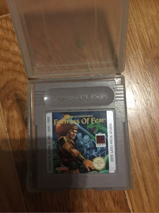 Game boy fortrees of fear