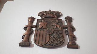 Escudos España de bronce