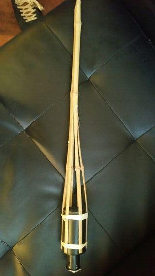 antorcha de bambu de jardin nueva