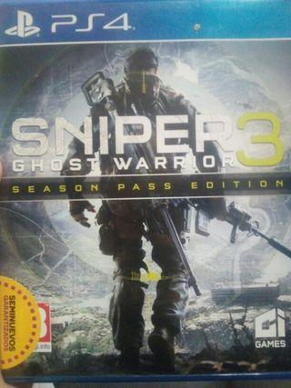 vendo sniper 3 para play 4