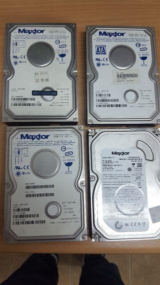 discos duros,ram y procesadores