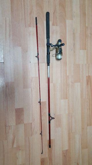 Caña de pescar Grauvell+accesorios