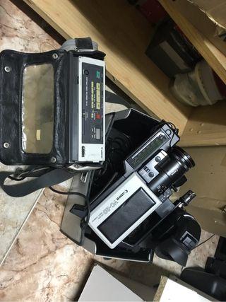 Camara de video antigua vhs