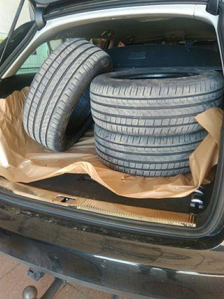 4 Neumático coche por cambio casi nuevos 7000km