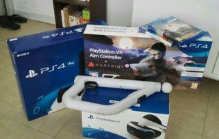 PS4 + casqueVr et jeux