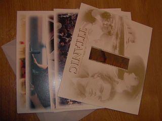 8 fotografias y un fotograma de Titanic