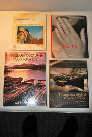 Libros de fotografía.