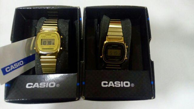 8914d1f8c417 Reloj casio mujer dorado nuevos a estrenar de segunda mano por 39 ...