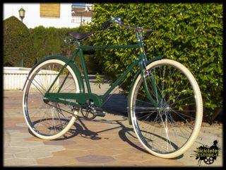 Bicicleta de varillas caballero