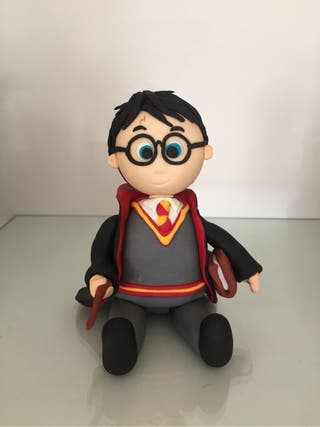 Harry potter de azucar Fondant