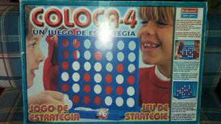 Juego Coloca-4