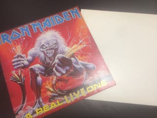 Iron maiden a real Live & Dead one dos lps buscado
