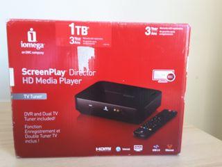 Disco duro multimedia. I omega HD. 1TB