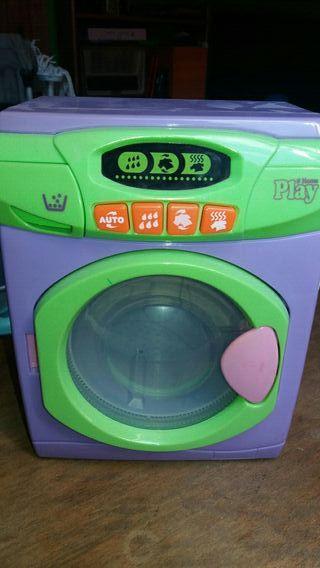 lavadora para niños