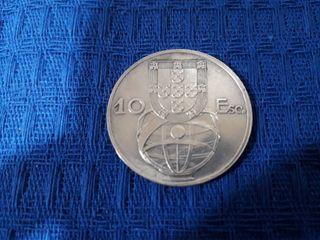 moneda 10 Escudos(PLATA)