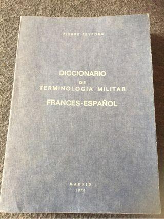 Diccionario militar frances español