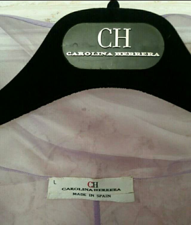 Chaqueta y top Carolina Herrera