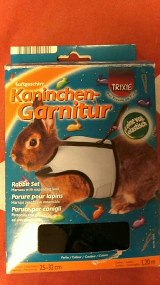 arnés para conejos
