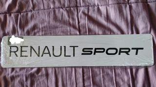 Placas Renault Sport