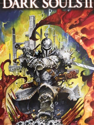 Dark Souls Litografia Metalica