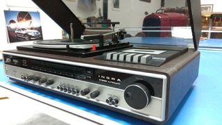 tocadiscos cassette antiguo