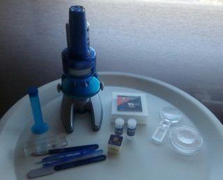 Microscopio + accesorios