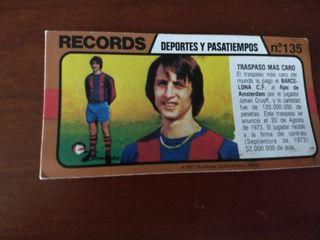 Los records del mundo Bimbo nº 135 Cruyff