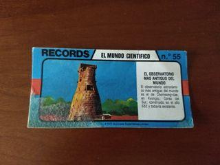 Los records del mundo Bimbo nº 55