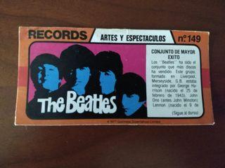 Los records del mundo Bimbo nº 149 The Beattles