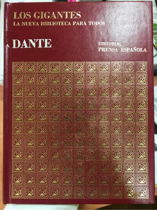 Libro los gigantes de dante alighieri