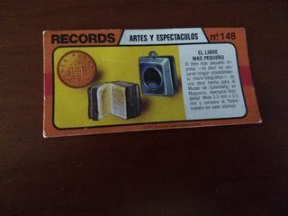Los records del mundo Bimbo nº 148