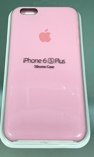 carcasa iphone 6s silicona rosa