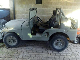 Jeep willys 1987