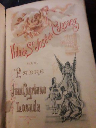 libro vida de San Jose de Calasanz