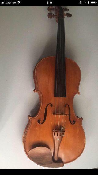 Viola talla 39, Luthier Rodolfo Arturo Salerno segunda mano  España