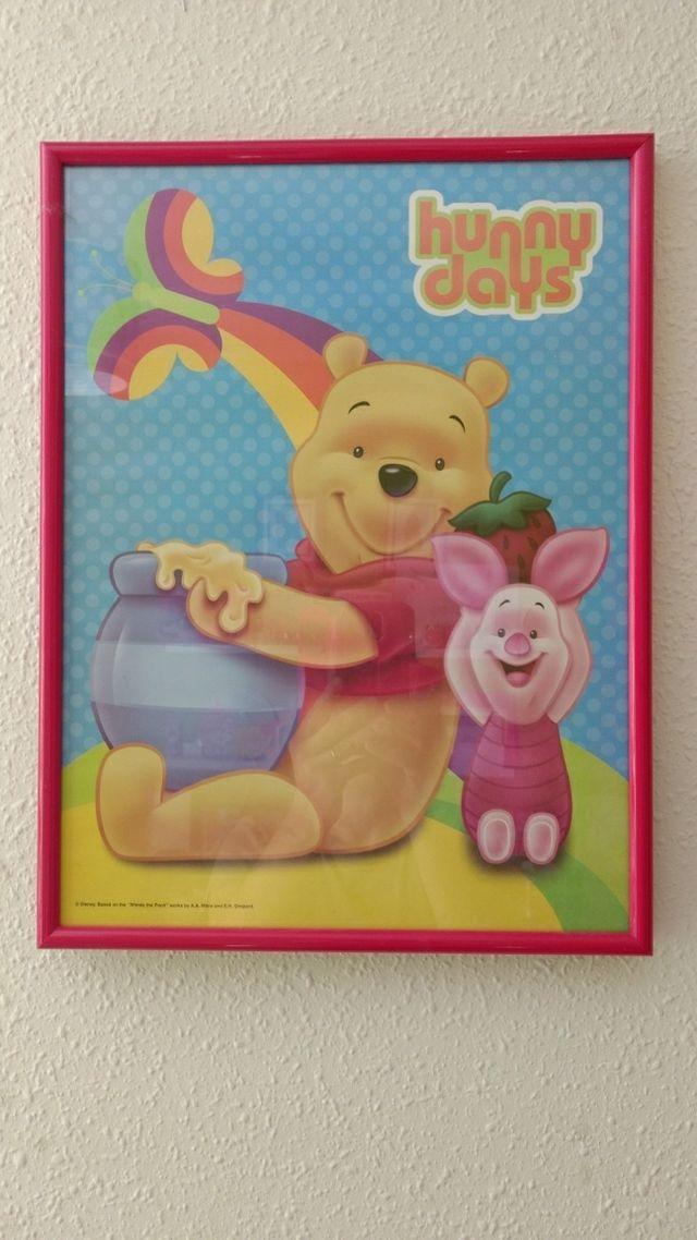 Cuadro infantil Winnie Pooh de segunda mano por 2 € en La Nucia ...