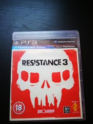 Ps3 videojuego resistance 3