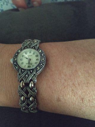 Reloj mujer plata antiguo filigrana de segunda mano por 180