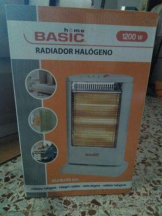 Calefactor Radiador Halogeno