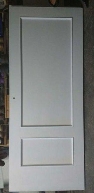 Puertas de madera lacadas de segunda mano en wallapop for Puertas de paso segunda mano