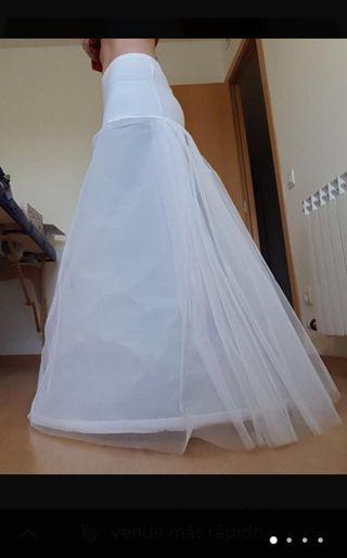 Cancan de vestido novia