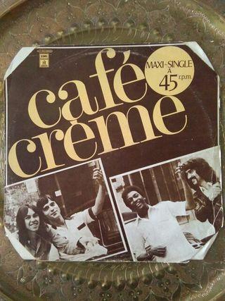 DISCO VINILO CAFE CREME