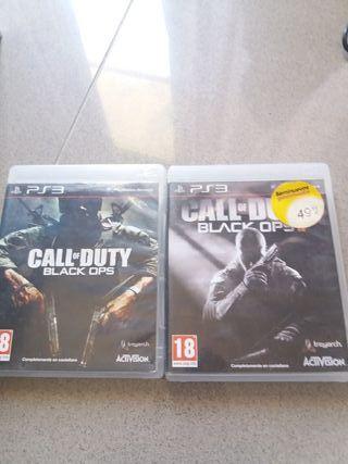 black ops 1 y 2 para ps3