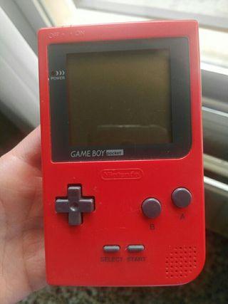 Dos Consolas game boy pocket + game boy adv + jueg