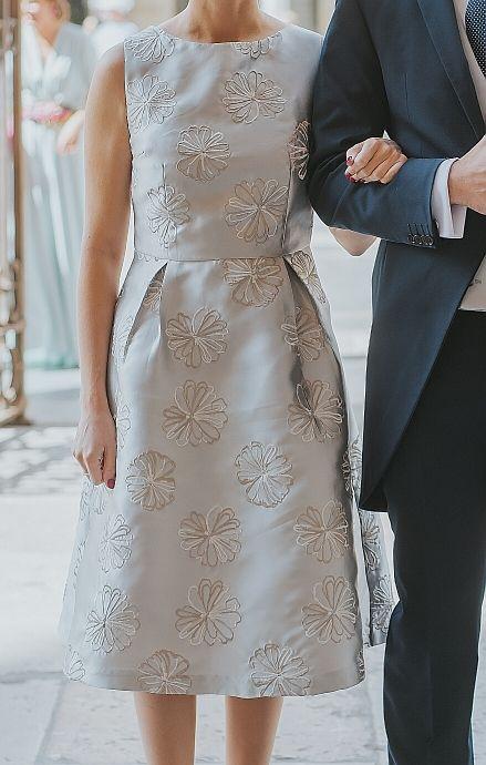 Vestido cóctel de Javier Simorra