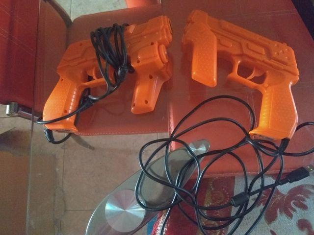pistolas PlayStation