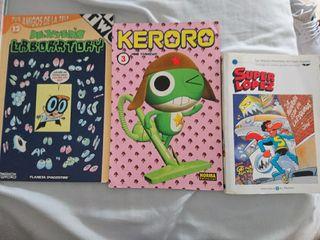 2 comics y 1 manga