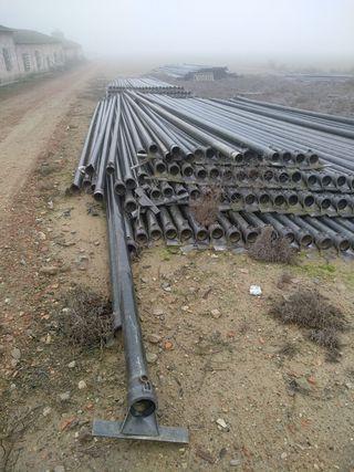 tubos riego aluminio alta calidad 10metros 4pulgad