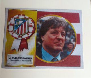 Cromo D'Alessandro. Este 94/95